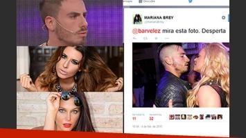 El punzante tweet de Mariana Brey que enfureció a Federico Bal. (Fotos: Web, Ciudad.com y Twitter)