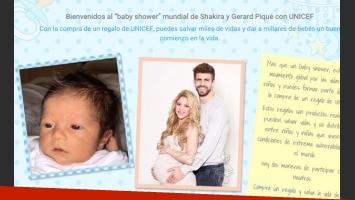 Shakira y Gerard Piqué presentaron en sociedad a su hijito Sasha (Foto: Web).