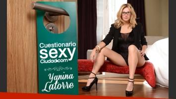 Yanina Latorre contestó el cuestionario sexy de Ciudad.com. (Fotos: Ciudad.com)