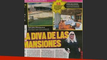 Susana Giménez puso a la venta su nueva mansión de Uruguay (Foto: Web y Muy)
