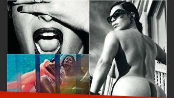 Kim Kardashian mostró toda su osadía para una revista británica. (Foto: Love Magazine)