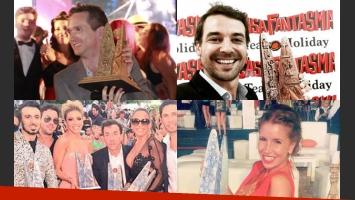 Todos los ganadores de los Premios Carlos 2015 (Fotos: Twitter y Cadena 3).