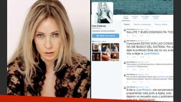 Inés Estévez y su furia tuitera contra el diario Perfil. (Foto: Web)