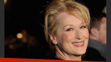 Meryl Streep, en contra de las cirugías. (Fuente: web)