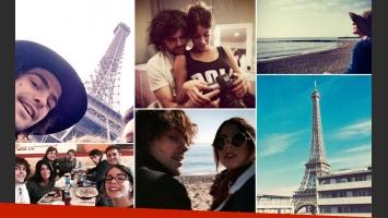 Tini Stoessel y Peter Lanzani, las fotos de su diario de viaje por Europa. (Foto: Instagram)