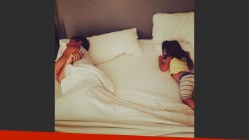 Adrián Suar se sumó al colecho: duerme con Margarita (Foto: Instagram)