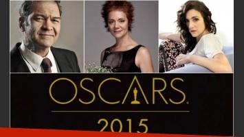 Los actores de Relatos salvajes palpitaron la entrega de los Oscar 2015. (Foto: Web)