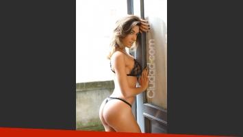 Para Floppy Tesouro, su cola está en el podio con la de Jésica Cirio. (Fotos: archivo Ciudad.com)