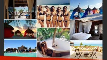 Zaira Nara y su viaje con amigas top, en la Riviera Maya. (Foto: Instagram)