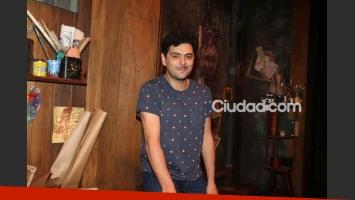 Alberto Ajaka en un mano a mano con Ciudad.com (Fotos: Movilpress).