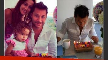 Las fotos de Diego Torres en familia por su cumpleaños número 44. (Foto: Web)