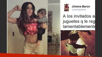 Jimena Barón contó cuál es el juguete favorito de su hijo Morrison. (Fotos: Instagram)