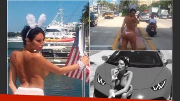 Vicky Xipolitakis adelantó lo que se verá próximamente en Playboy Estados Unidos.  (Foto: Twitter)