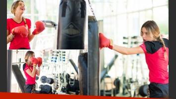 Lucía Celasco, una it girl que encontró la forma de estar en línea y de ganarle al sedentarismo con ¡el boxeo! (Foto: blog Lucia Celasco)