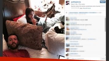 Polito Pieres pasó a la final con su equipo y festejó con Calu Rivero en la cama (Foto: Instagram)