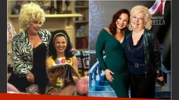Antes y después de Fran Drescher y Renée Taylor. (Foto: Web)
