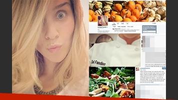 Soledad Fandiño y sus recetas. (Fotos: Instagram y Twitter)