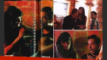 Magalí Mora y Ariel Diwan juntos en Corrientes (Foto: revista Paparazzi)
