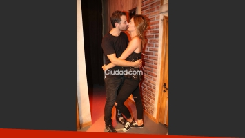 Paula Chaves fue a ver a Pedro Alfonso.  (Foto: Movilpress)