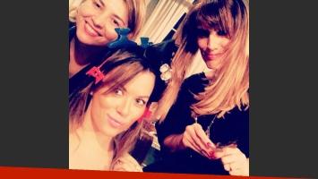 El cambio de look de Karina Jelinek. (Foto: Instagram)