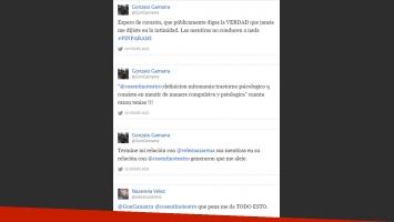 Los picantes tweets de la cuenta de Gonzalo Gamarra. (Foto: Twitter)