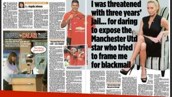 Marcos Rojo, envuelto en un escándalo sexual en Inglaterra con una profesora de fitness. (Foto: Daily Mail)