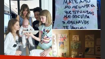 El apoyo de los hijos de Guillermina Valdés previo a su debut teatral (Foto: Twitter y Web)