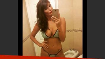 Las infartantes selfies de Magalí Mora en ropa interior (Foto: Twitter)