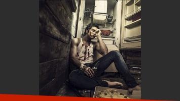 Chino Darín, en la piel de Alejandro Puccio. (Foto: Instagram.com/josecicala)