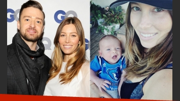 Justin Timberlake presentó a su hijo (Foto: Web e Instagram)