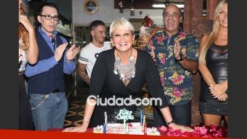 El cumpleaños de Carmen Barbieri. (Foto: Movilpress)