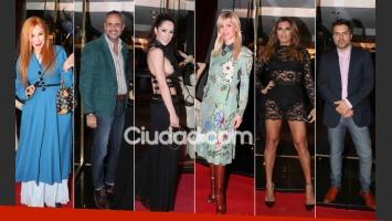 Muchas celebrities en la apertura del local de lencería hot de Victoria Vannucci. (Foto: Movilpress)