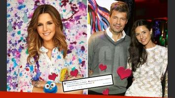 Candelaria Tinelli y un mensaje cargado de amor para su papá. (Foto: Web y Twitter)