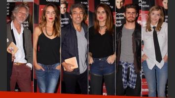 Celebrities en el estreno de Como quien oye llover. (Foto: gentileza .Tiff)