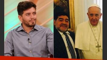 Diego Junior, tras el pedido de Francisco a Maradona para que lo reconozca: