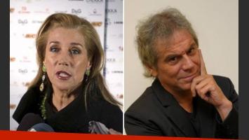 Marcela Tinayre y Beto Casella, enfrentados (Foto: Web)