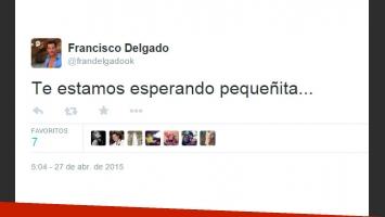 Francisco Delgado volvió a la Argentina y se reencontró con su ex, embaraza: ¿se reunirá con Gisela Bernal? (Foto: Twitter)
