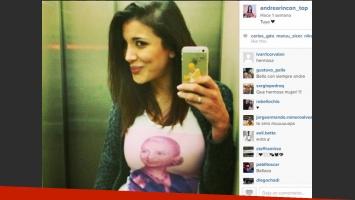 Andrea Rincón y sus enigmáticos mensajes de amor (Foto: Instagram).