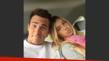 Pablo Mouche y su novia Valentina van a ser papás. (Foto: Instagram)