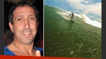 Turco Naim, surfista experto de olas gigantes en el océano Pacífico. (Foto: Web y Twitter)
