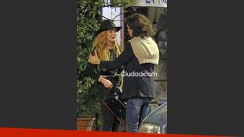 Lindsay Lohan estalló en llanto tras discutir con su novio (Fotos: Grosby Group).