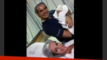 Ramón Andino, el tercer hijo de Guillermo y Carolina Prat. (Foto: Twitter)