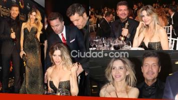 Tinelli y Guillermina Valdés: sus mejores fotos en los Martín Fierro (Fotos: Movilpress).