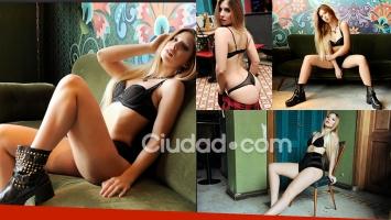Romina Malaspina posó para Ciudad.com.