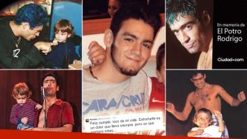 El emotivo mensaje de Ramiro, el hijo del Potro Rodrigo. (Foto: Web)
