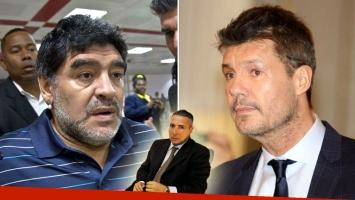 Víctor Stinfale habló del enfrentamiento entre Diego Maradona y Marcelo Tinelli. (Foto: Web)