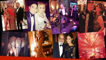 Celebrities en la gala arábiga de Make a Wish. (Foto: Twitter)