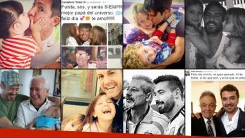 Las celebrities festejaron el Día del Padre en todo el mundo. (Foto: Instagram)