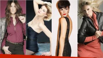 Las actrices de Los ricos no piden permiso. Foto: Web