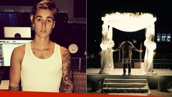 Justin Bieber publicó una enigmática foto: ¿quiere casarse? (Foto: Instagram)